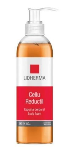 cellu reductil espuma corporal higiene cafeina lidherma