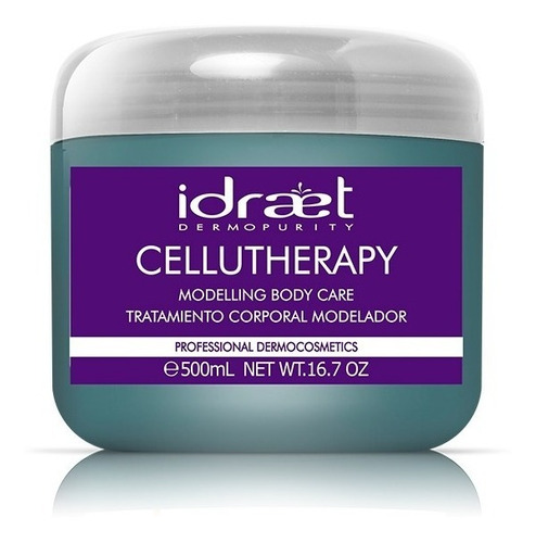 cellutherapy gel modelador celulitis x 500ml idraet