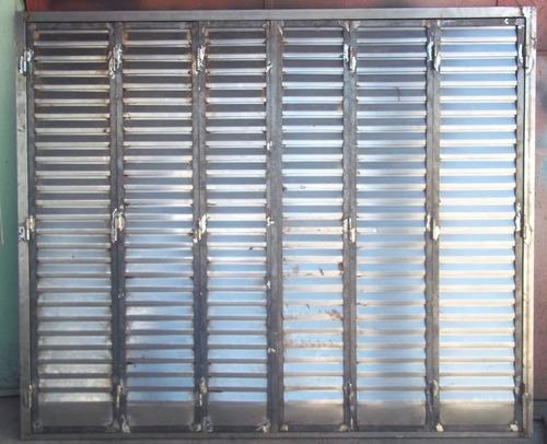 celosias metalicas( persianas de seguridad)