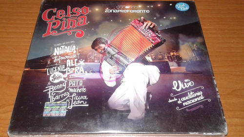 celso pina 2cd-1dvd zona preferente