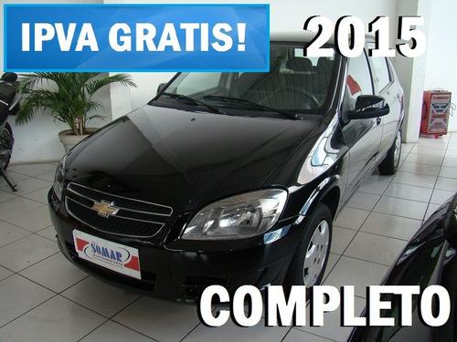 celta 2015 completo - carro sem entrada é na somar!!!