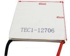 celula celda  peltier termoeléctrica tec1-12706