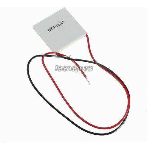 célula / celda termoeléctrica de peltier tec1-12706 12v 6a