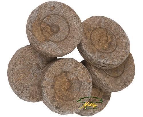 célula de germinação peat pellet jiffy turfa 30x40 mm 100 ud