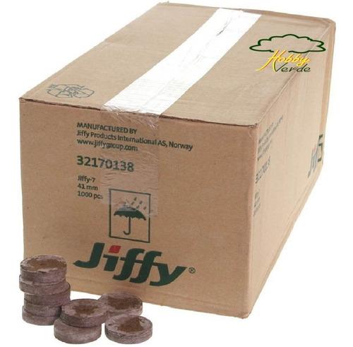 célula de germinação peat pellet jiffy turfa 42x42 mm 100 ud