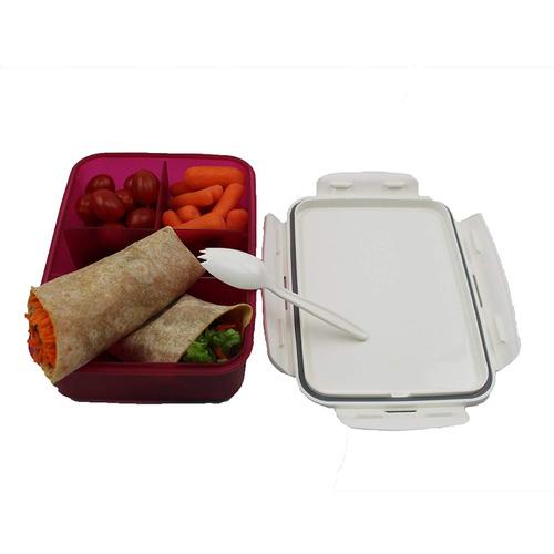 célula guante fuga prueba 3 compartimiento almuerzo caja bp