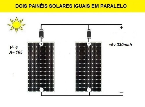 célula painel placa energia solar fotovoltaica 6v 1w watts