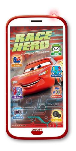 celular 3d juguete disney cars luces sonidos ditoys original