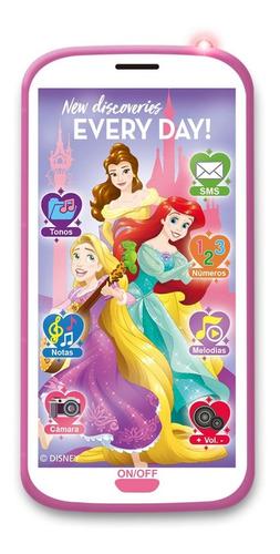 celular 3d juguete disney princesas luces sonidos ditoys