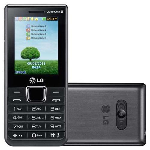 celular 4 chip lg teclado tela grandes idoso pronta entrega