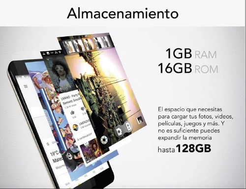 celular aiwa z9 huella 5 hd 1gb 16gb 13mpx wifi 4g negro