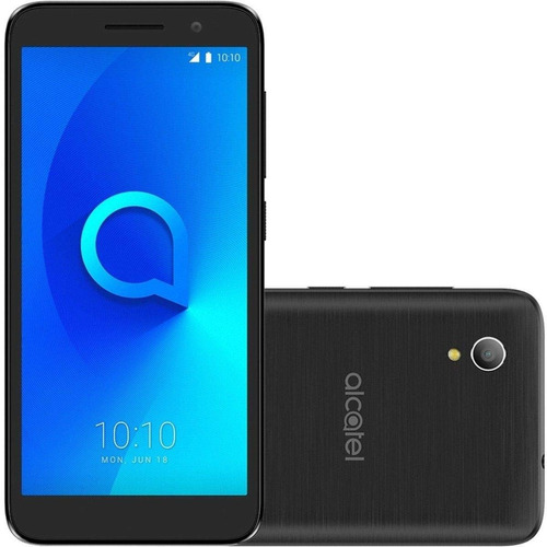 celular alcatel 1 tela 5 4g android 8 dual quad core 8mp 1gb