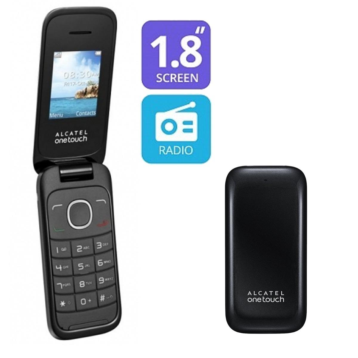 Celular Alcatel 1035d Flip 2 Chip Abre E Fecha- Barato D+