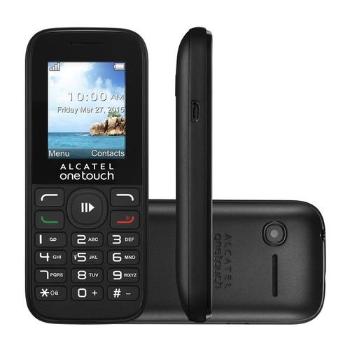 celular alcatel 1050a, cámara, radio fm, mp3, garantía 1 año