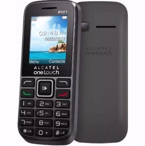 celular alcatel 1052 simples botões e tela grande cam vga fm