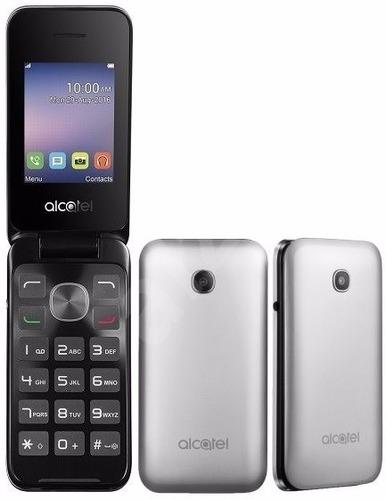 celular alcatel 2051d flip tela 2.4 numeros grandes idoso