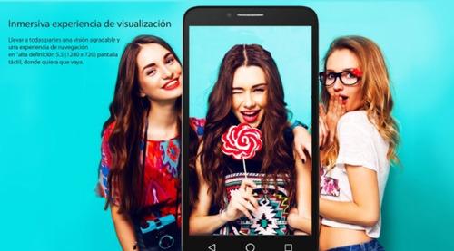 celular alcatel flint onetouch 5.5 4g lte 16gb 8mp nuevo