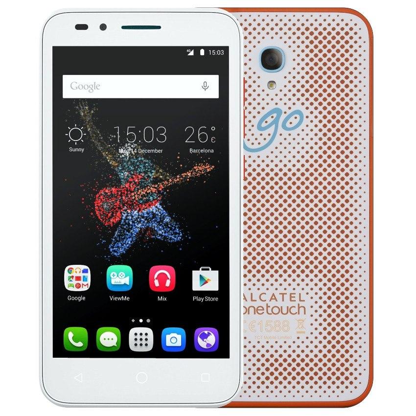 Celular Alcatel Go Play 5 4g Sumergible Blanco