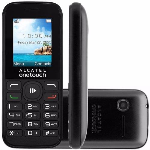 celular alcatel one 1050e, pan 1.8 , dual sim + obsequio sim