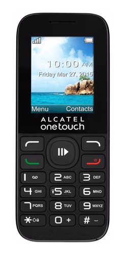 celular alcatel one touch 1050a