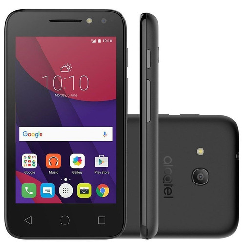 celular alcatel pixi 4 4034e dual câmeras 8mp android 6.0