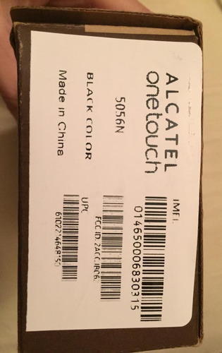 celular android alcatel fierce 4. one touch. 4g lte