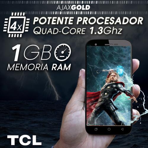 celular android smartphone liberado 4g lte tcl hd gps flash