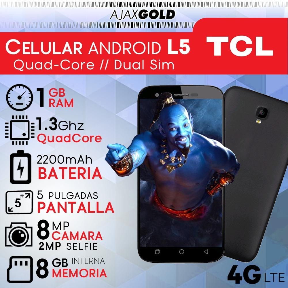 9bea870a1 celular android smartphone liberado 4g lte tcl hd gps flash. 9 Fotos