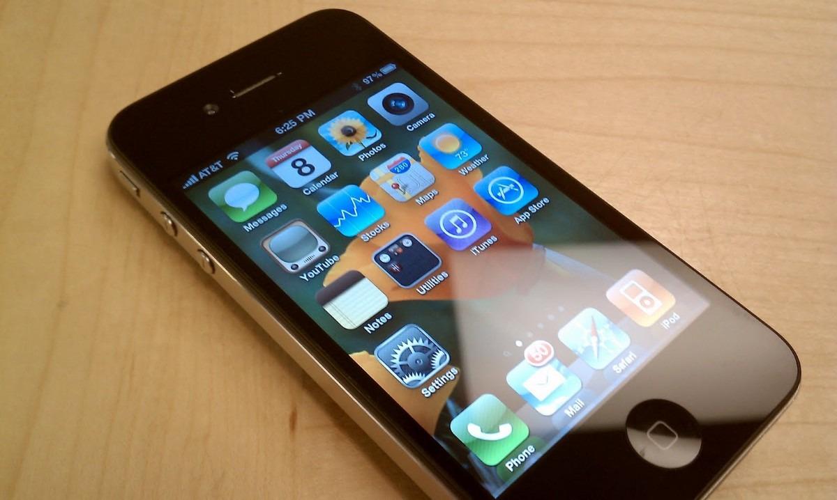 878cff975 Celular Apple iPhone 4 32gb Telcel - $ 3,500.00 en Mercado Libre