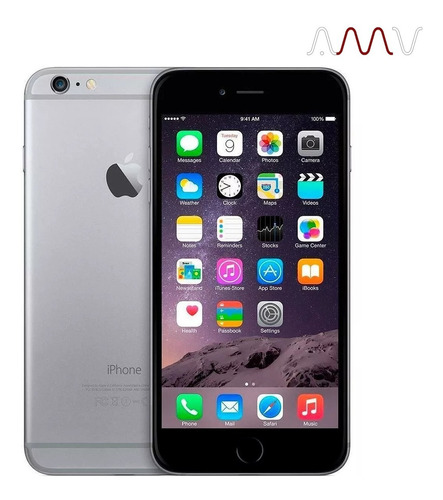 celular apple iphone 6 32gb 4g lte 4,7 32gb 1gb ios 8 amv