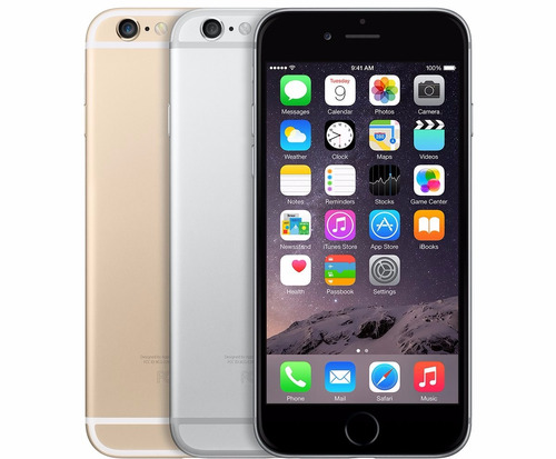 celular apple iphone 6 64gb space gray grado a caja sellada