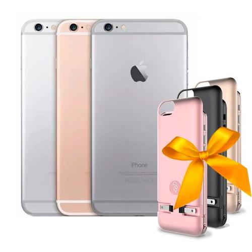 celular apple iphone 6 grado b 128gb gold + power case