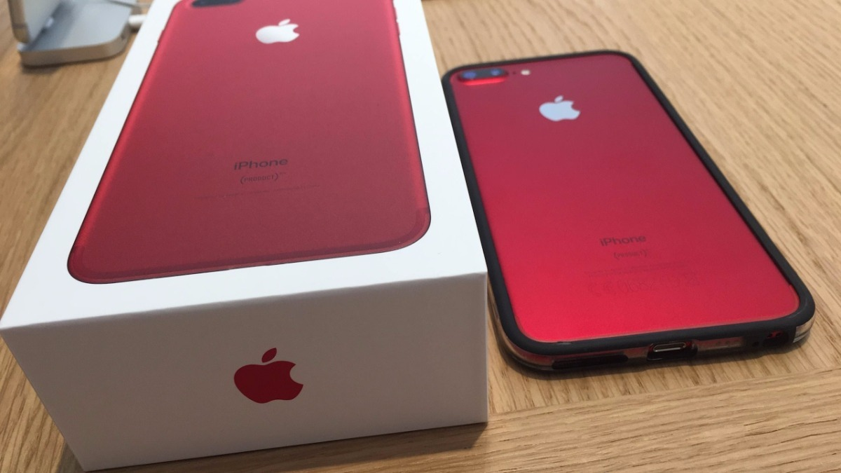 Celular Apple Iphone 7 128gb Special Edition Red R 329000 Em 128 Gb Carregando Zoom