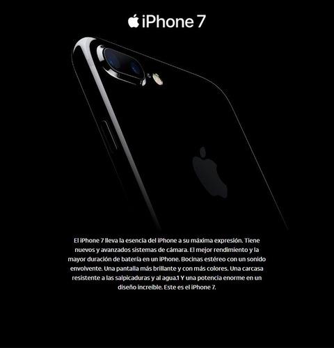 celular apple iphone 7 32gb 4g lte demo
