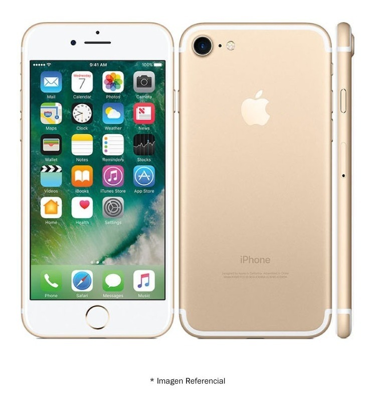 0d58b1410ac Celular Apple iPhone 7 32gb Rose Gold - U$S 340,00 en Mercado Libre