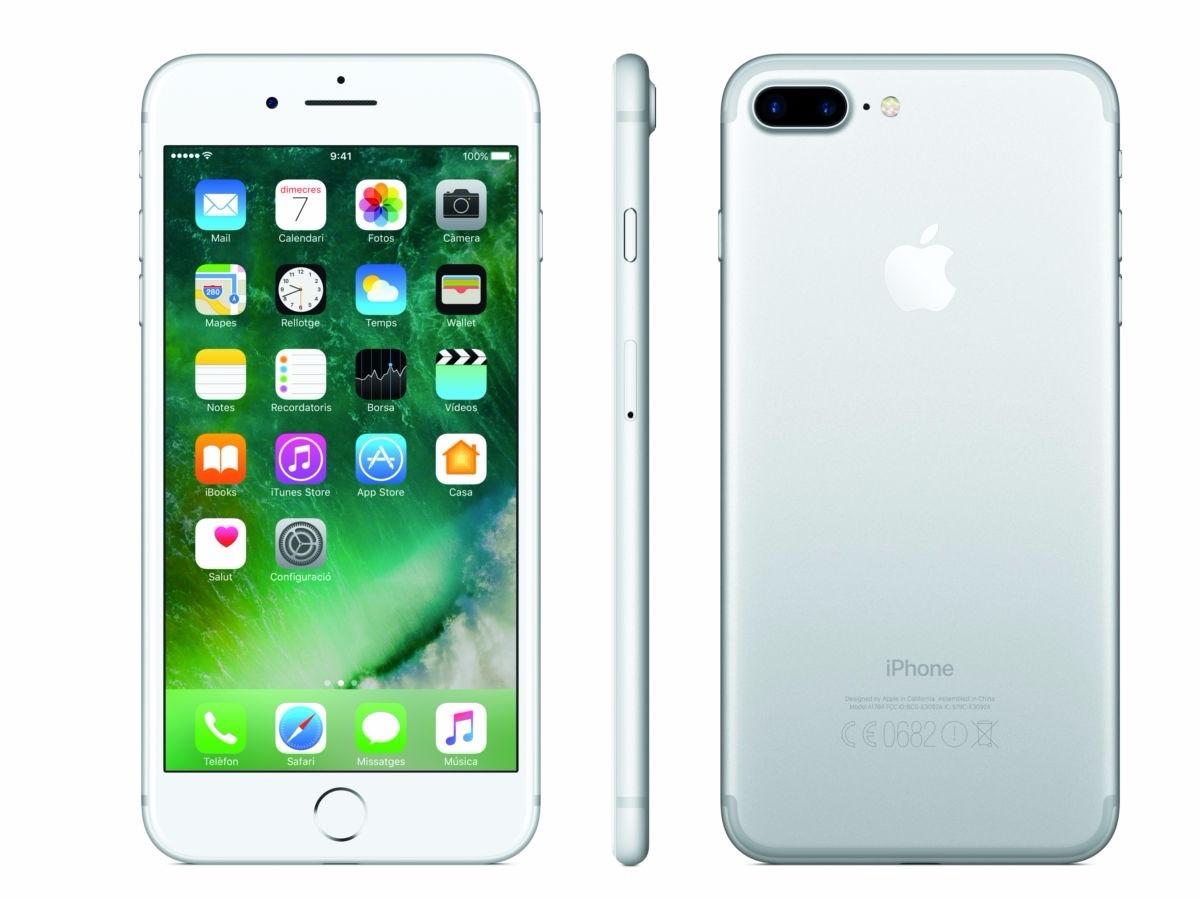 celular apple iphone 7 plus 256gb plata 26 en. Black Bedroom Furniture Sets. Home Design Ideas
