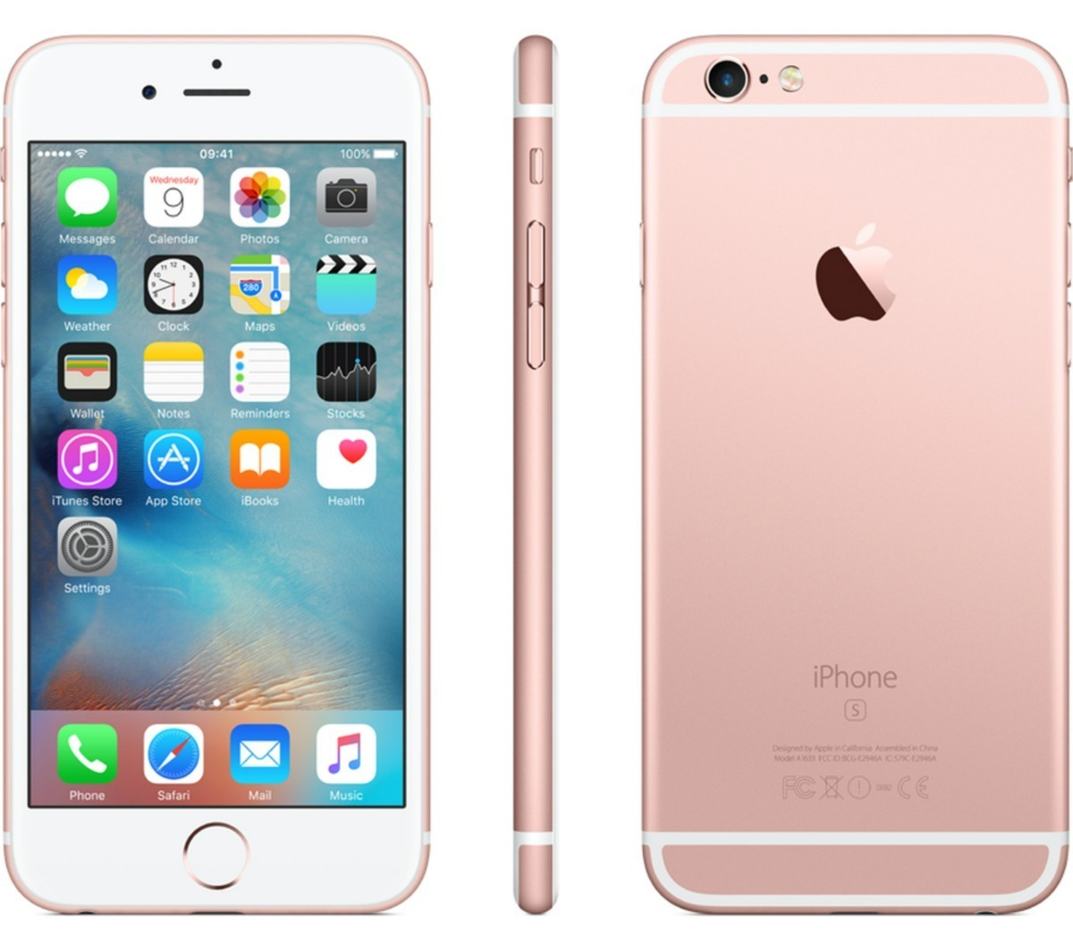 e5fd1fc6c36 celular apple iphone se 32gb gold rosa libre modelo shfy mp3. Cargando zoom.