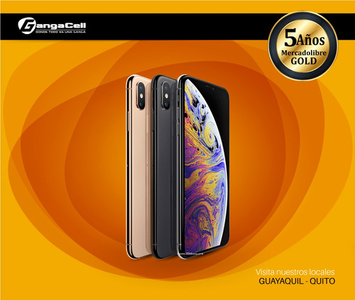 celular apple iphone xs 64gb nuevo, sellado, en stock