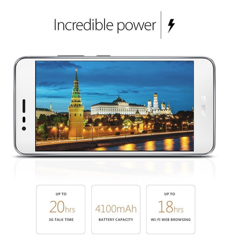 celular asus zenfone 3 max 5,2 pulgadas 2gb ram 16gb rom