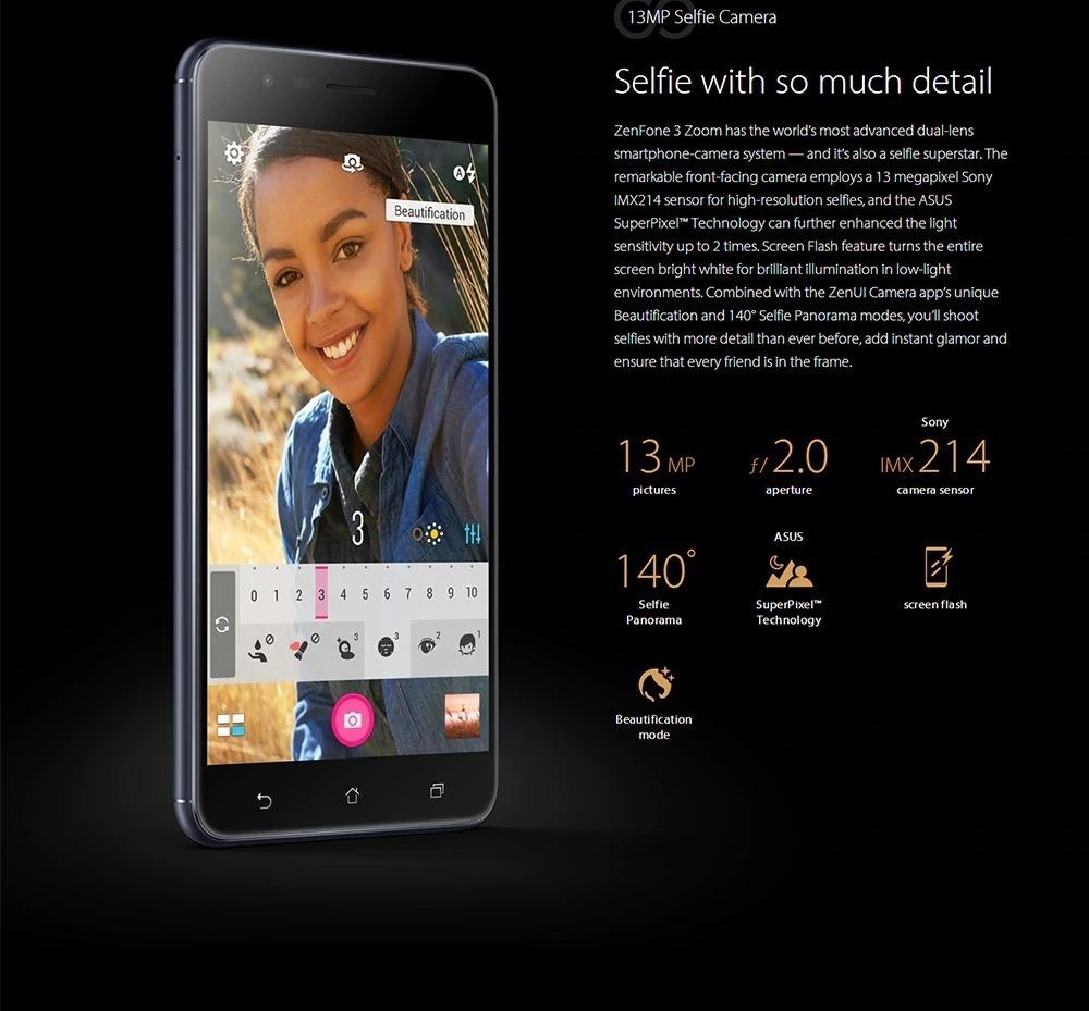 248952a6b1 celular asus zenfone 3 zoom ze553kl 64gb black friday. Carregando zoom.