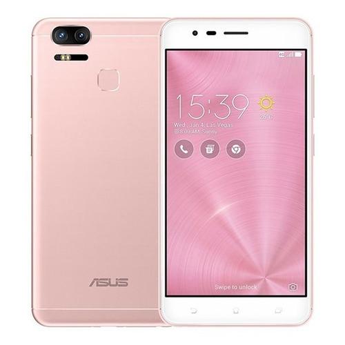 celular asus zenfone 3 zoom ze553kl 64gb rosa + nota fiscal