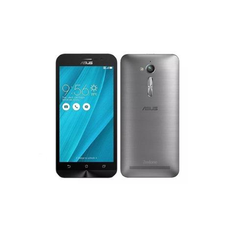 celular asus zenfone go zb500kg dual sim - silver