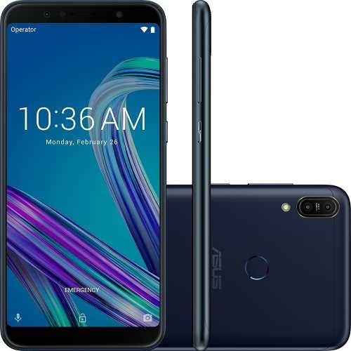 celular asus zenfone max pro m1 zb602 32gb 3gb preto