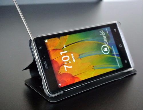 celular avvio 489 cam 8mp mem 8gb pant 4.5 3g tv digital