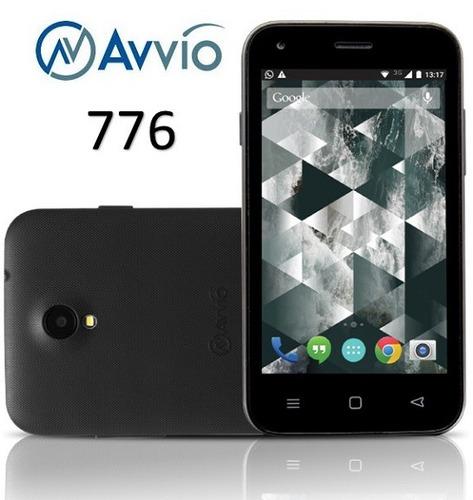 celular avvio 776 color negro avvio original sellado nuevo