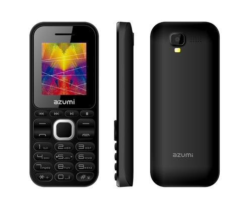 celular azumi l2z,pqt 5 pzas,teclas grandes,bt,cámara,mp3,fm