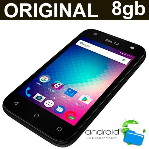 celular barato android 6.0 3g wifi gps 2 chips original 8gb