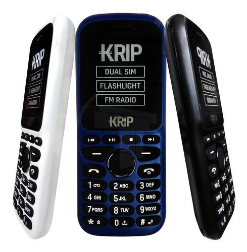 celular barato krip k1 dual sim linterna radio basico