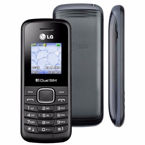 celular barato lg b220 dual chip radio idoso fm original lg