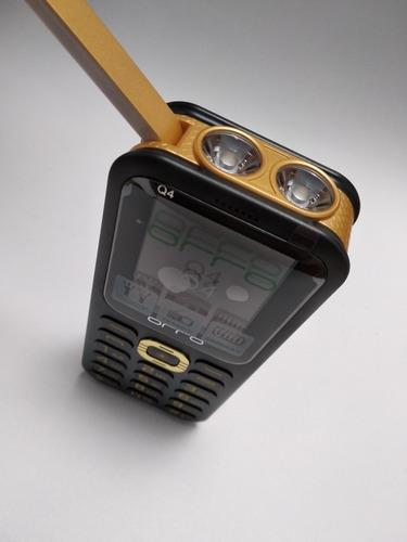 celular barato orro q4 lampled 3 sim powerbank usb 6000 mah